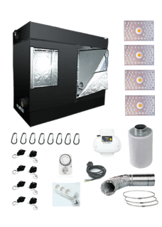 HomeLab 120L LED 440W Grow Set