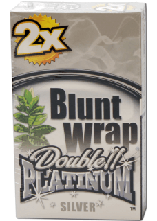 "Blunt Wrap Double Platinum ""Silver"" 2er Pack"
