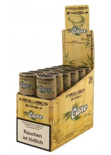 Cyclones Cane X-TRA Slow mit Holzfilter 2er Pack